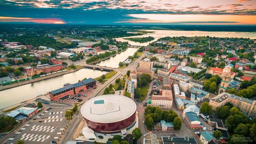 Liepaja ist die drittgrößte Stadt in Lettland und liegt an der Westküste des Landes nahe der Grenze zu Litauen
